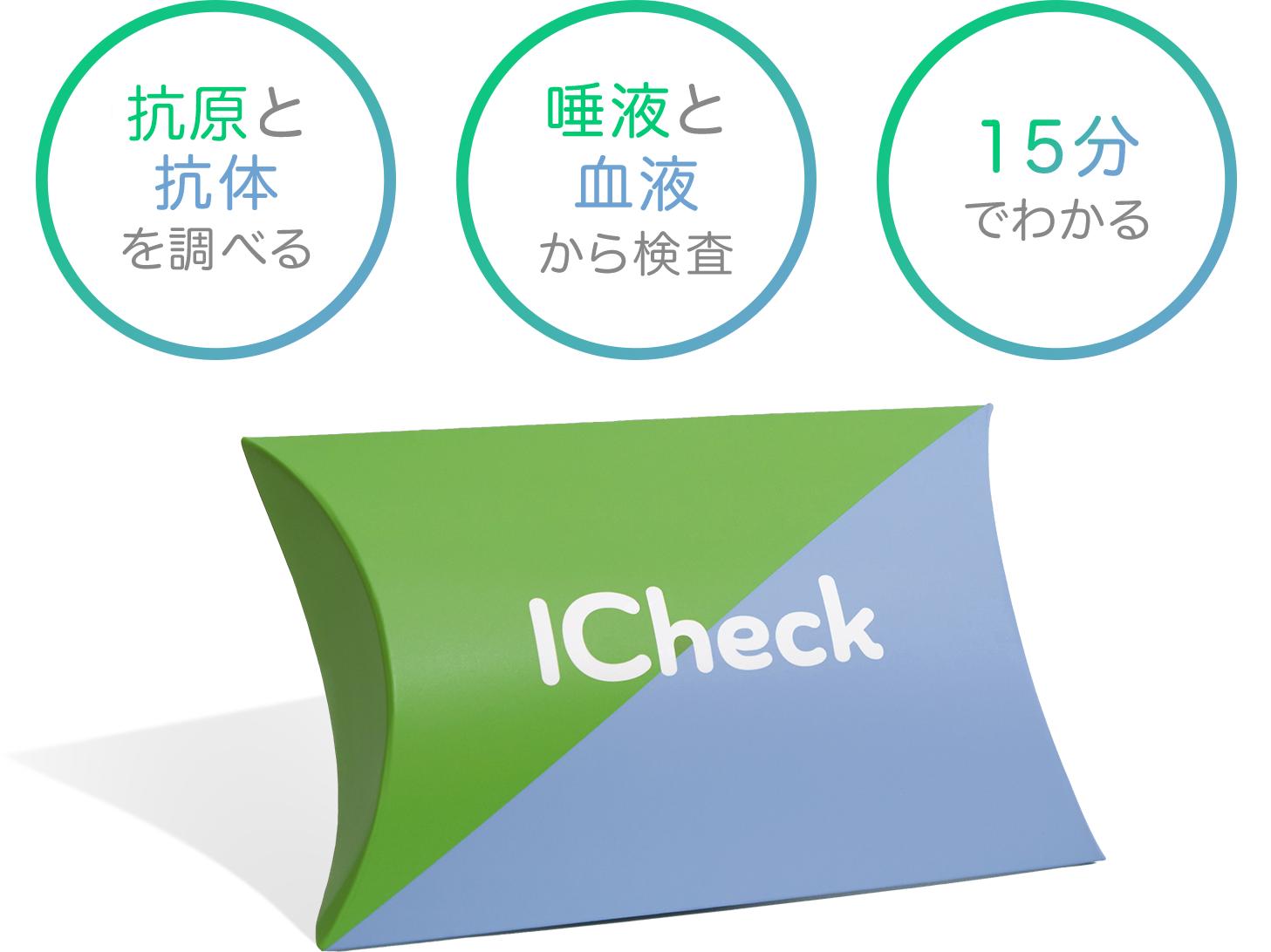 ICheck抗原検査&抗体検査パック5,980円