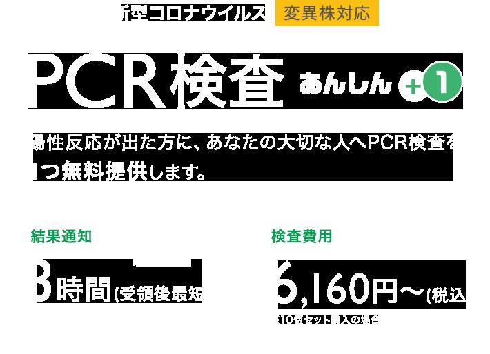 自宅で簡単!変異株対応PCR検査キットが通販で6,160円~